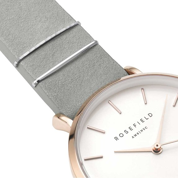 Rosefield The West Village Mint Grey Rose Gold - WMGR-W74
